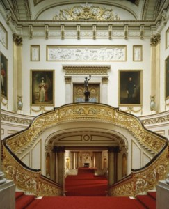 The Grand Staircase, Buckingham Palace Photographer: Derry Moore, © The Royal Collection 2006, Her Majesty Queen Elizabeth II