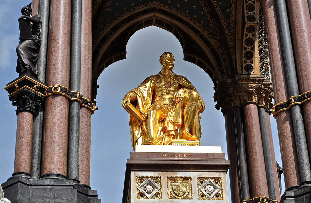 Prince Albert's Memorial – Kensington Gardens, London
