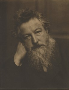 William Morris by Frederick Hollyer, 1884. © National Portrait Gallery, London