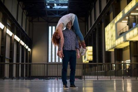 Boris Charmatz, If Tate Modern was Musée de la danse 2015 Photo © Hugo Glendinning 2015