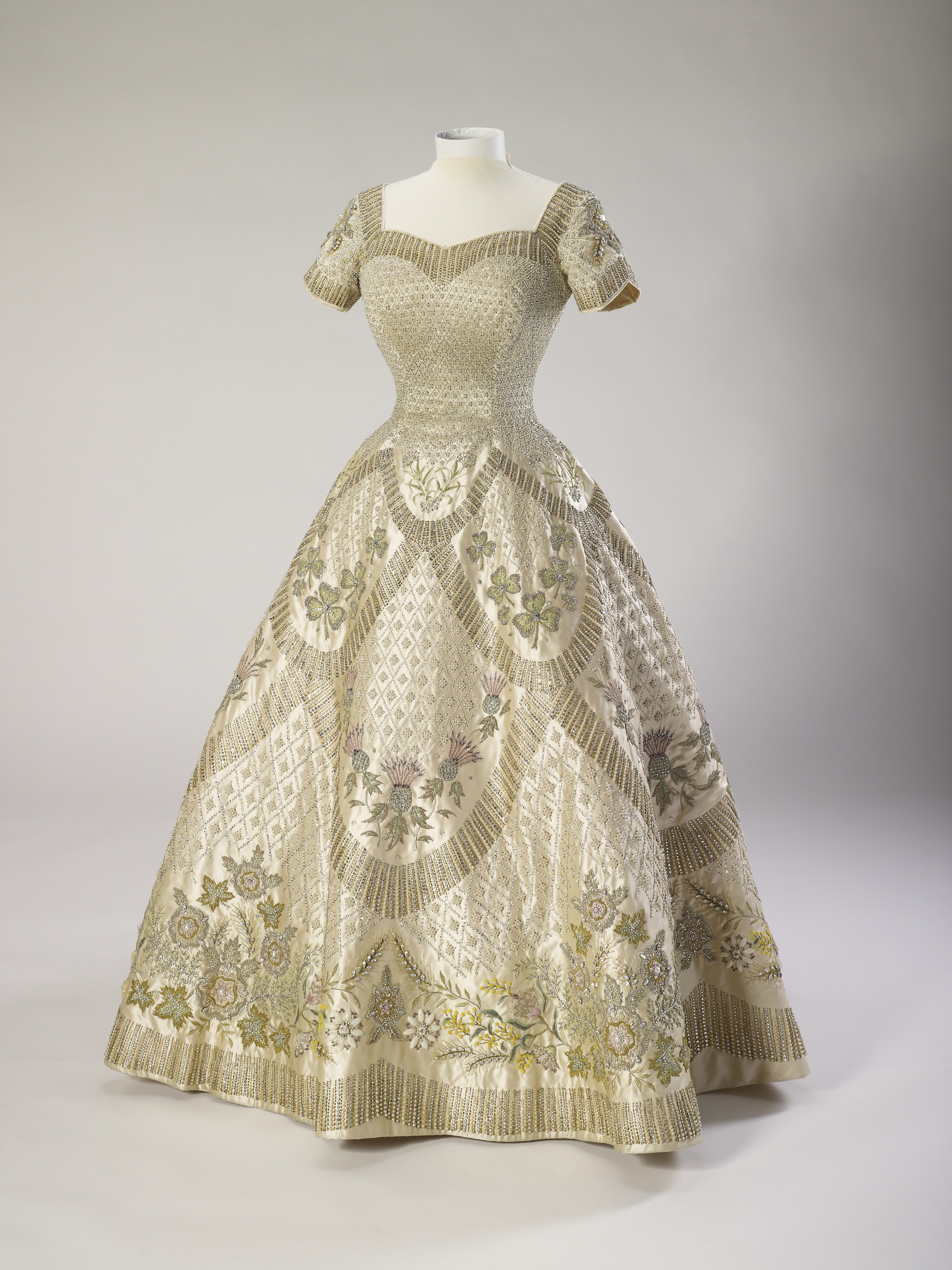 Her Majesty The Queen's Coronation dress, 1953, Norman Hartnell