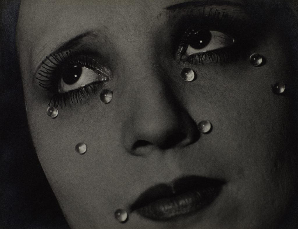 Man Ray 1890-1976Glass Tears (Les Larmes) 1932Photograph, gelatin silver print on paper229 x 298 mmCollection Elton John© Man Ray Trust/ADAGP, Paris and DACS, London 2016