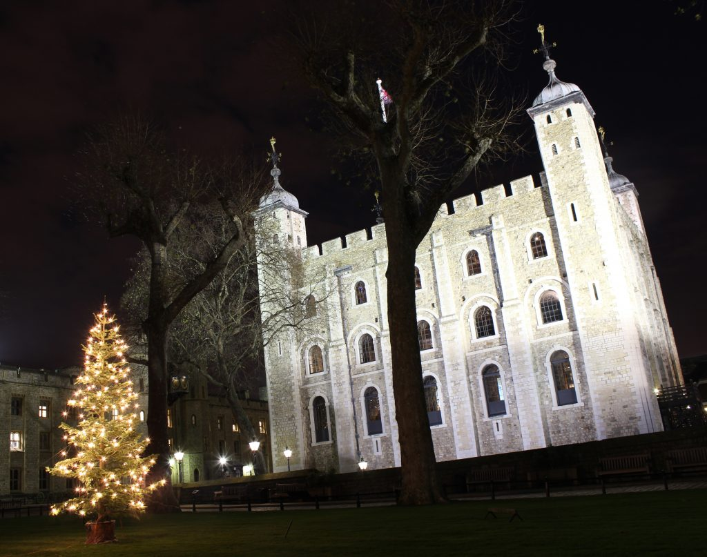 Tower of London at Christmas