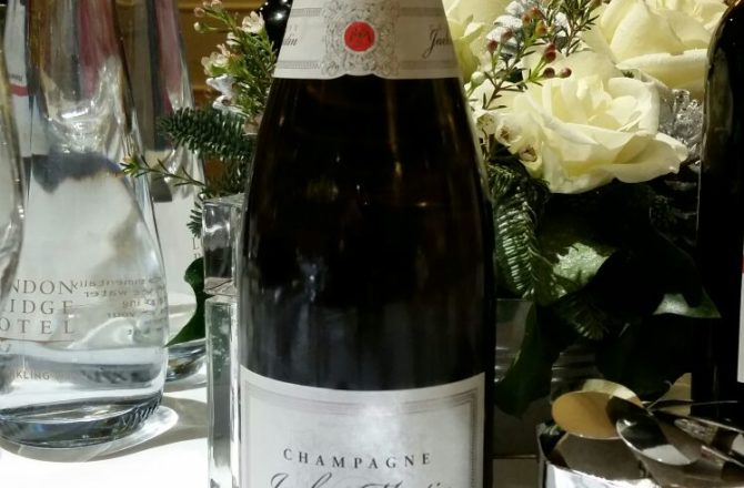 Popping the cork on Jacky Martin Champagne