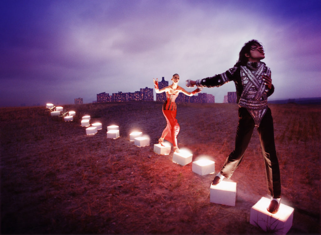 An illuminating path, 1998 by David LaChapelle