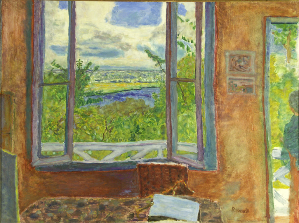 Pierre Bonnard - Window Open on the Seine (Vernon) 1911-12
