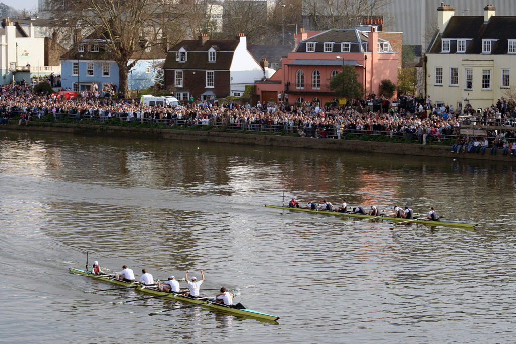 Oxford Cambridge boat race
