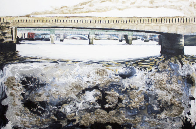 Artistic focus on Adrian Flaherty: London Bridge OPEN 2