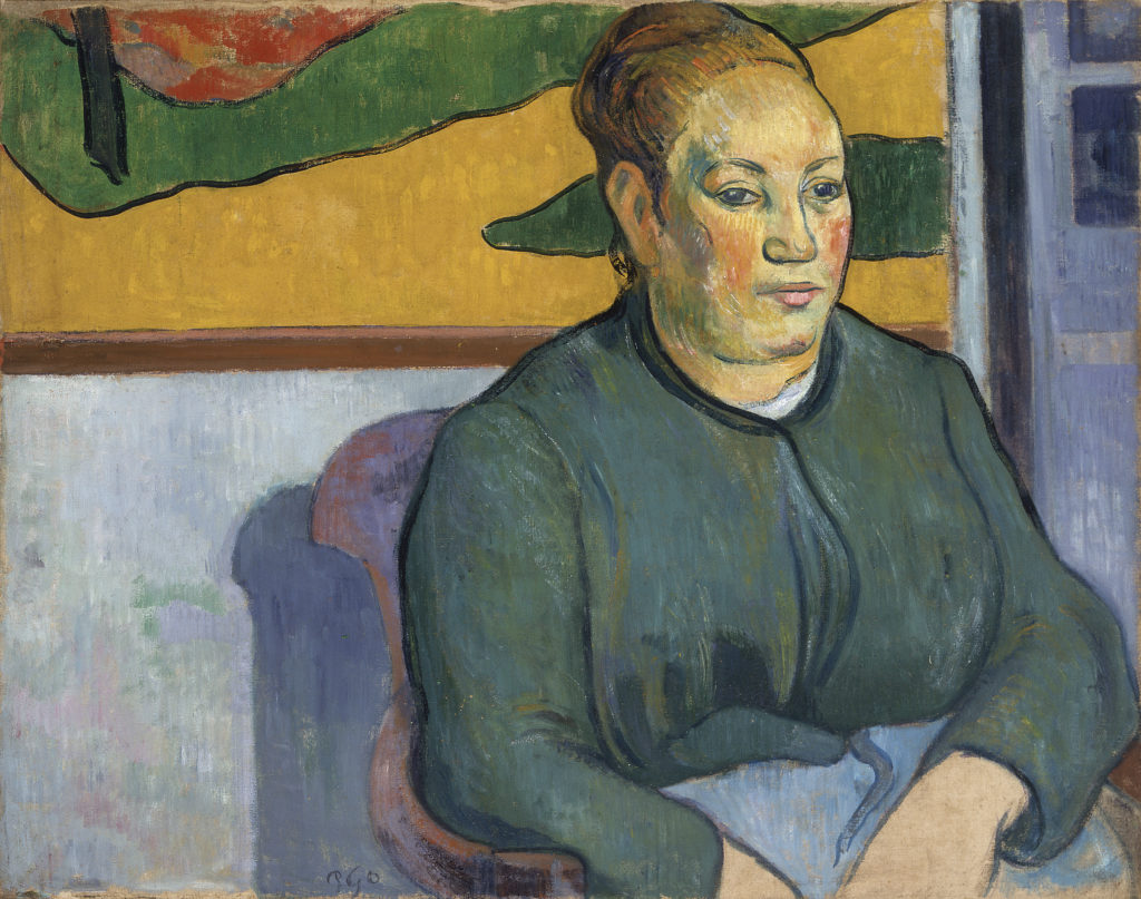 Paul Gauguin - Portrait of Madame Roulin, 1888
