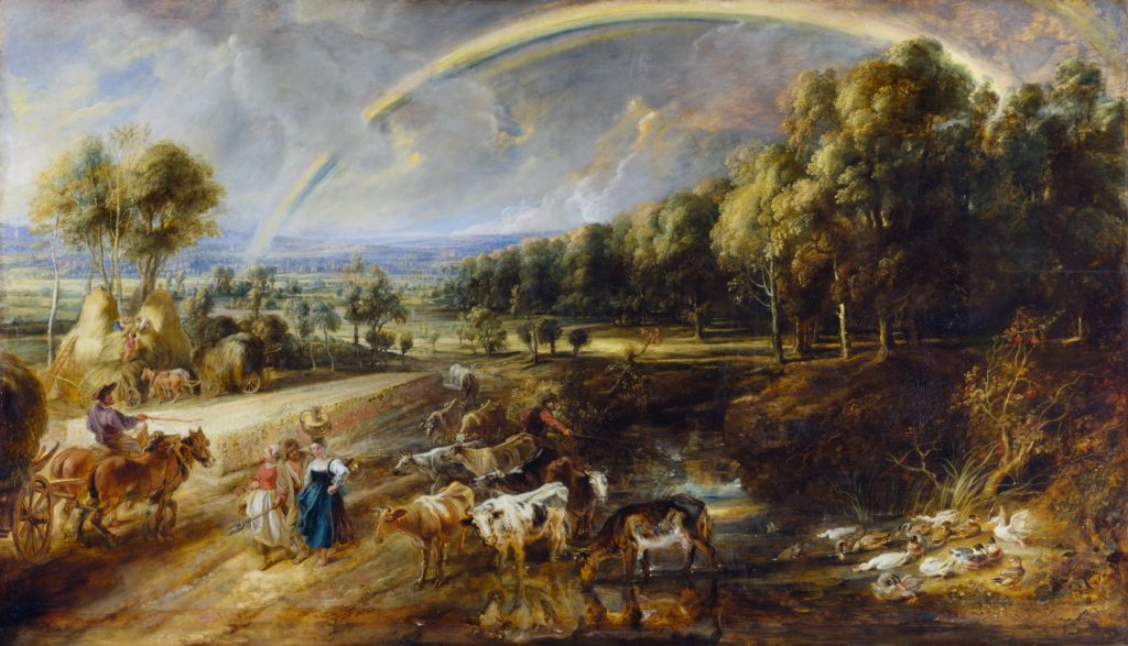 Rubens - The Rainbow Landscape